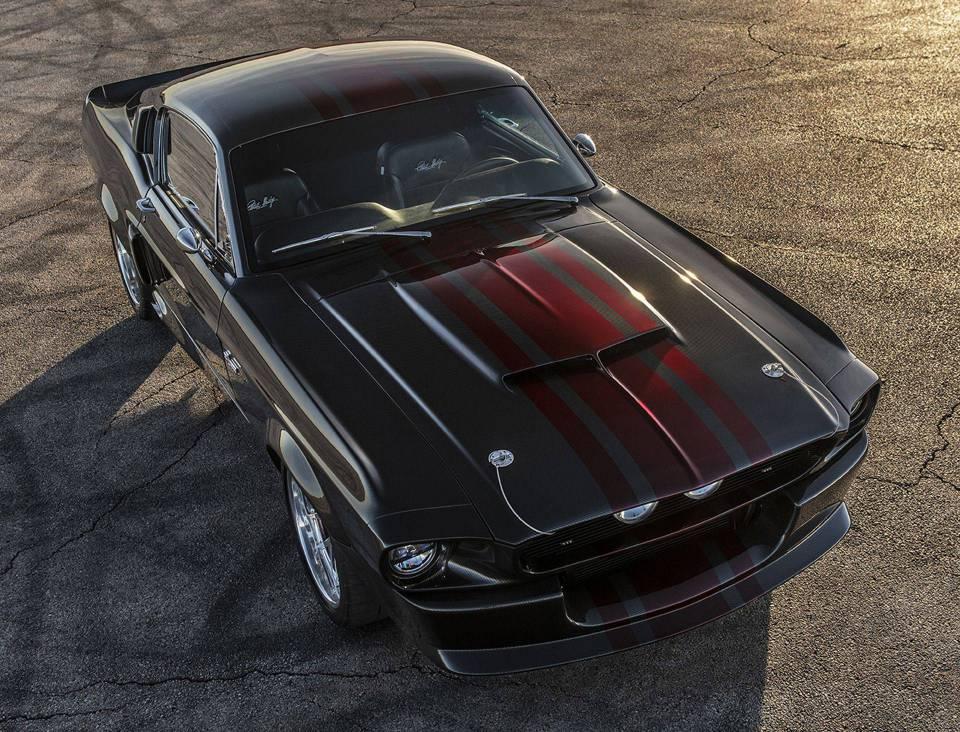 全碳纤维车身1967 Shelby GT500CR 野马汽车限量发布