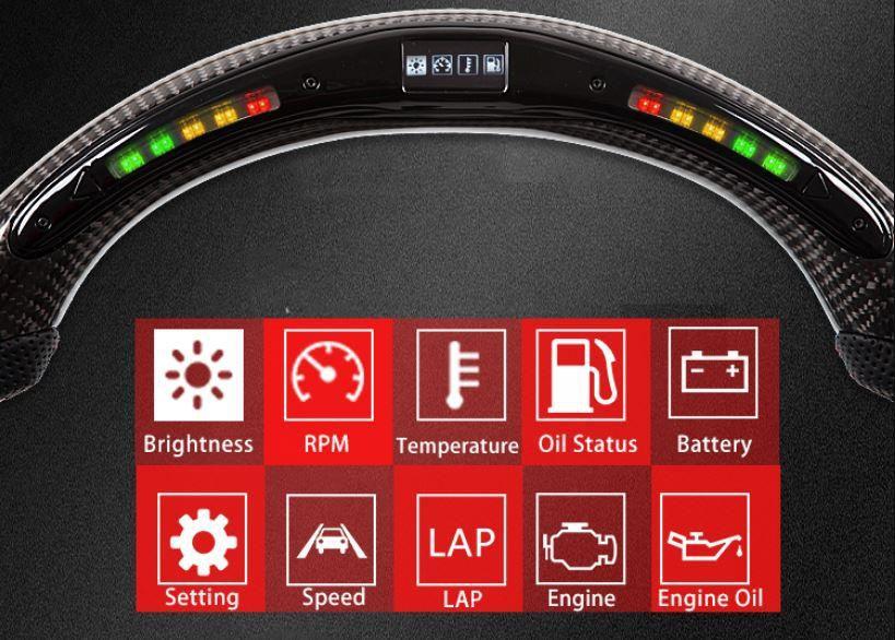 碳纤维方向盘有什么好处?方向盘有必要换碳纤维吗?