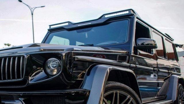 奔驰碳纤维改装