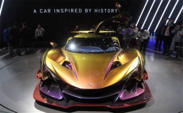 全球首款全碳纤维汽车亮相进博会!